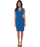 Adrianna Papell - Netting Insert Sheath Dress