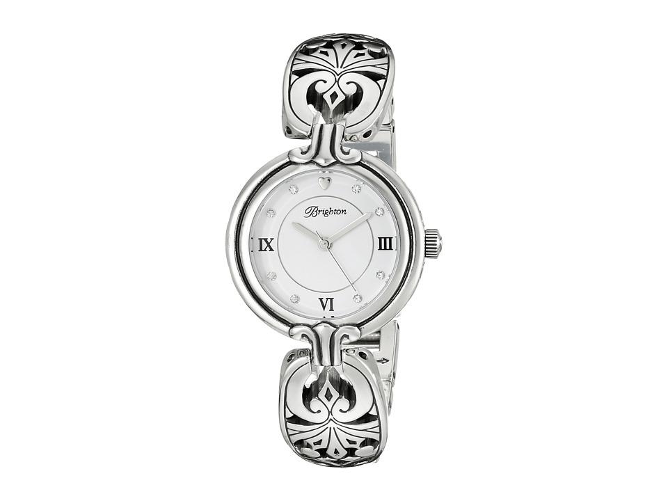 Brighton - W41030 Dijon Timepiece (Silver) Watches