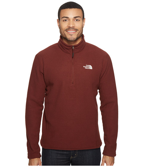The North Face SDS 1/2 Zip Pullover - Sequoia Red