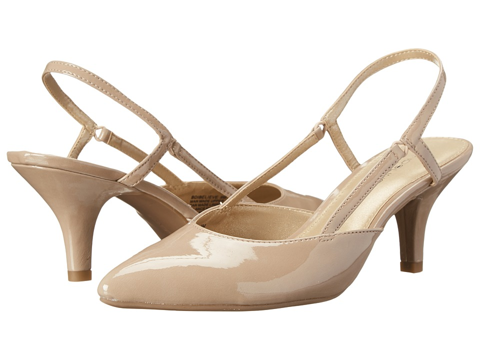 Bandolino Ibelieve Natural Synthetic High Heels