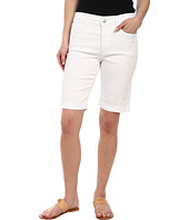 NYDJ Petite - Petite Briella Short in Optic White