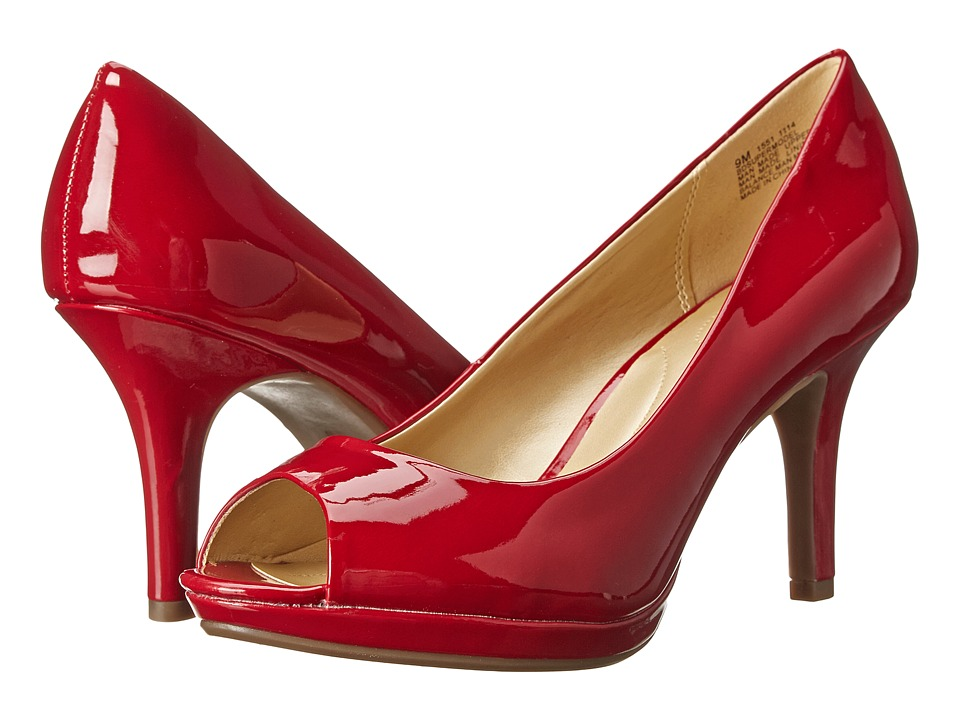 Bandolino Supermodel Red Synthetic Womens Shoes