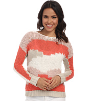 TWO by Vince Camuto - Mixed Yarn Intarsia Tunic