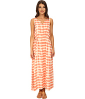 TWO by Vince Camuto - Sunbaked Stripe Sleeveless Drawstring Maxi
