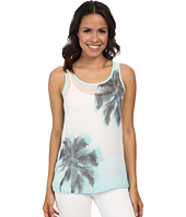 TWO by Vince Camuto - Sleeveless Chiffon Breezy Palms Tank