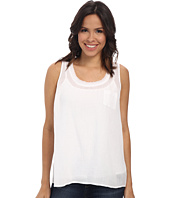 TWO by Vince Camuto - Sleeveless Solid One-Pocket Tank