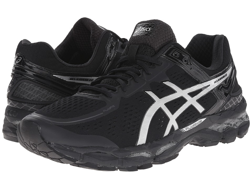 ASICS - GEL-Kayano 22 (Onyx/Silver/Charcoal) Men