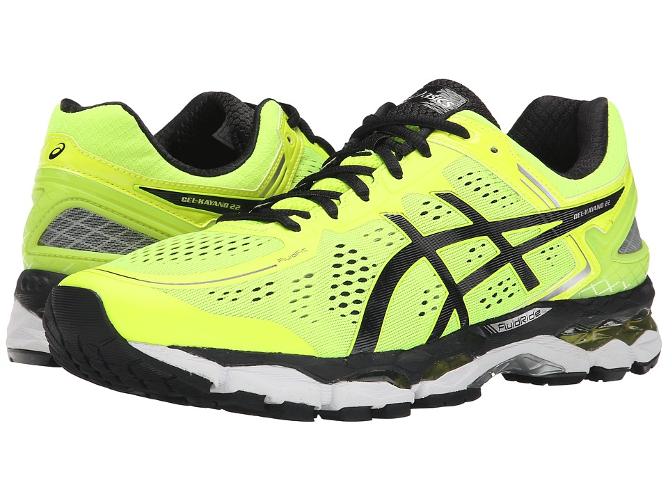 ASICS - GEL-Kayano 22 (Flash Yellow/Black/Silver) Men