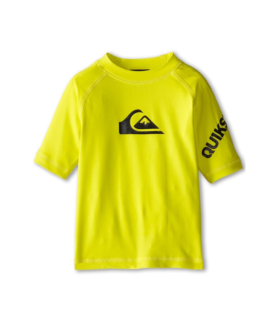 Quiksilver Kids All Time Surf Shirt Toddler Sulphur Spring Boys Swimwear
