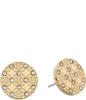 Michael Kors - Monogram Stud Earrings