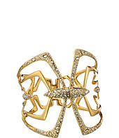 Alexis Bittar - Kinetic Gold Large Encrusted Mirrored Hinge Bracelet