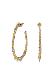 Alexis Bittar - Crystal Studded Spur Hoop Earrings