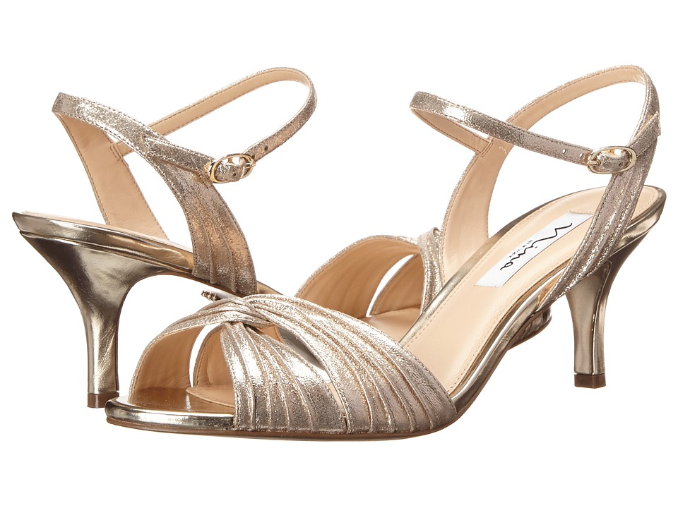 Nina Camille (Taupe/Light Gold) High Heels