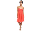 Donna Morgan Morgan Sweetheart Dress (Coral)