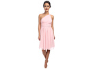 Donna Morgan Rhea One-Shoulder Dress (Blush)