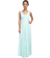 Donna Morgan - Giselle Long Pleated Chiffon