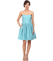 Donna Morgan - Madison Seamed Bodice Strapless Shantung
