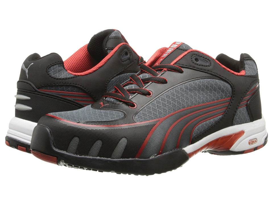 PUMA Safety Fuse Motion SD (Black/Red) Women