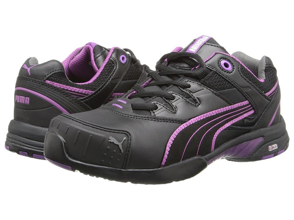 PUMA Safety Stepper SD (Black/Purple) Women