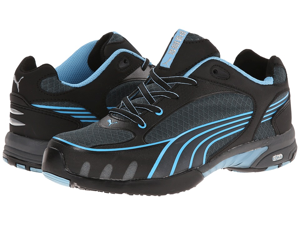 PUMA Safety - Fuse Motion SD (Black/Blue) Womens Work Boots