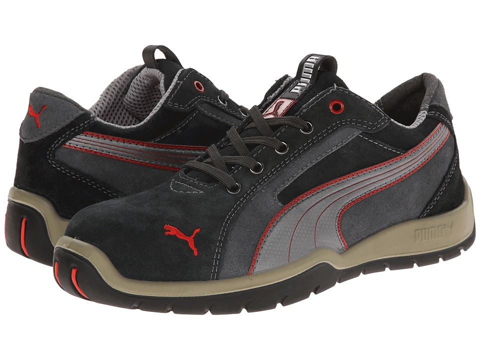 PUMA Safety - Dakar Low SD (Grey) Mens Work Boots