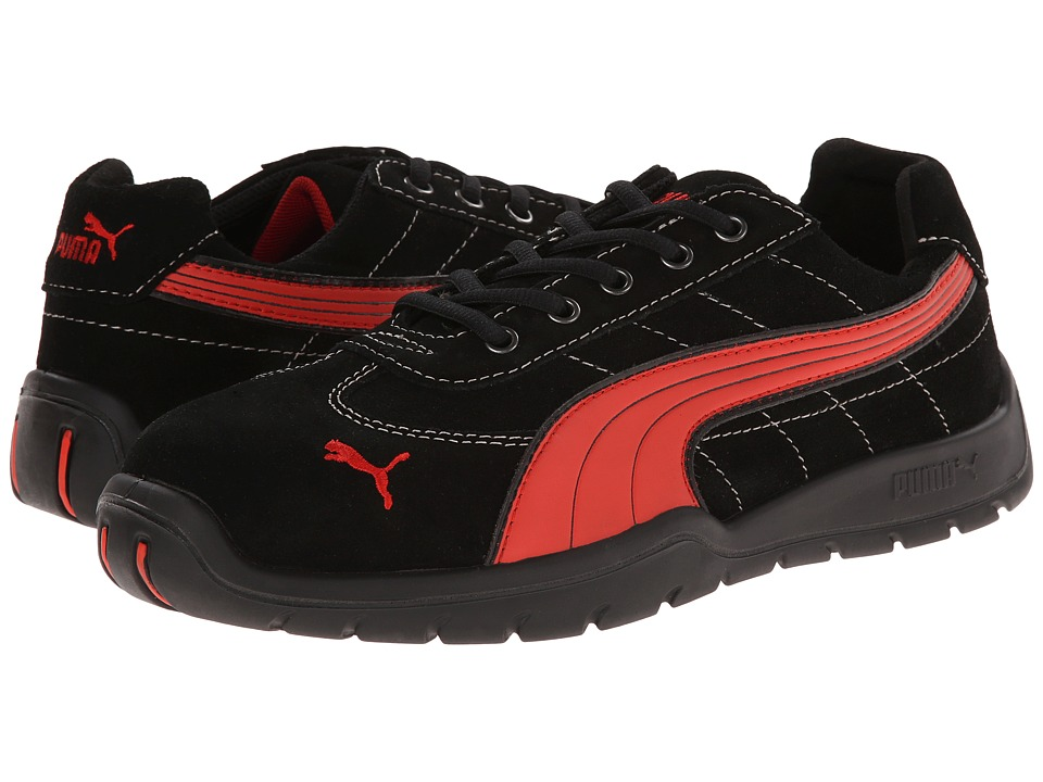 PUMA Safety - Silverstone SD (Black/Red) Mens Work Boots