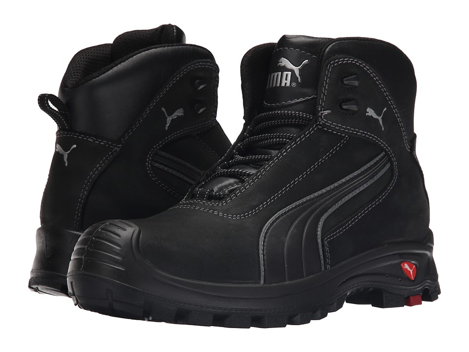 PUMA Safety - Cascades Mid EH (Black) Mens Work Boots