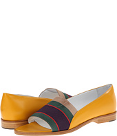 Band of Outsiders - Elastic Loafer Peep Toe Flat