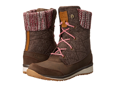 Salomon Hime Mid - Absolute Brown-X/Absolute Brown-X/Light Grey