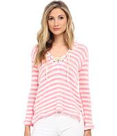 Splendid - Ohana Stripe Loose Knit Hoodie