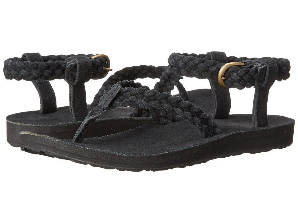 Teva Original Sandal Suede Braid Black Womens Sandals