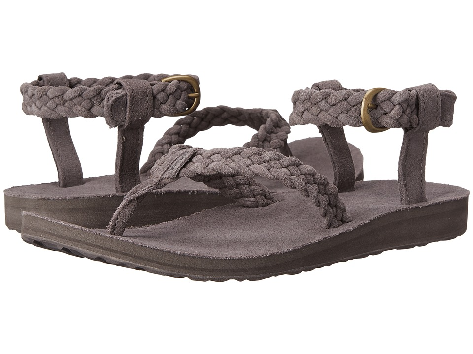 Teva Original Sandal Suede Braid Eiffel Tower Womens Sandals