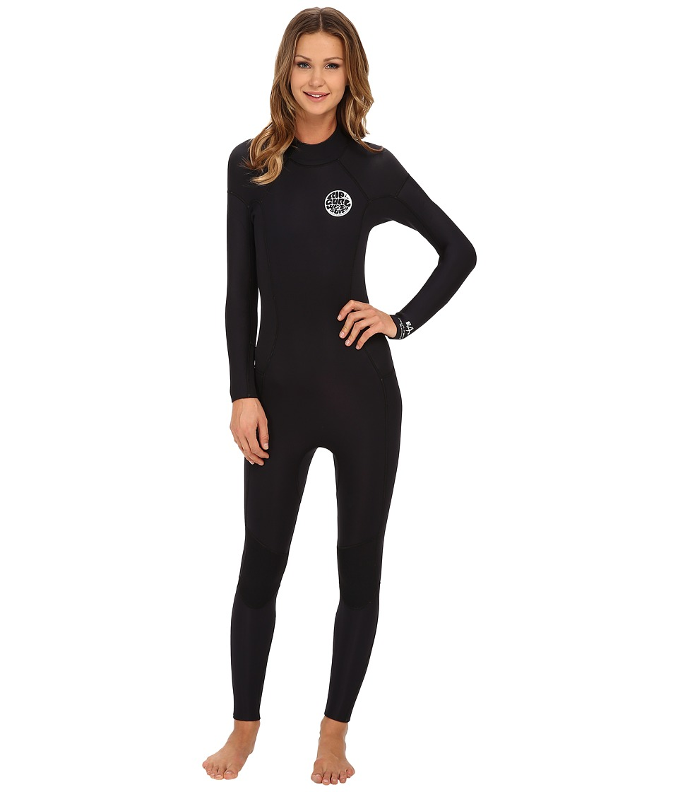 Rip Curl Dawn Patrol 4/3 GB Full Suit Black Womens Wetsuits One Piece