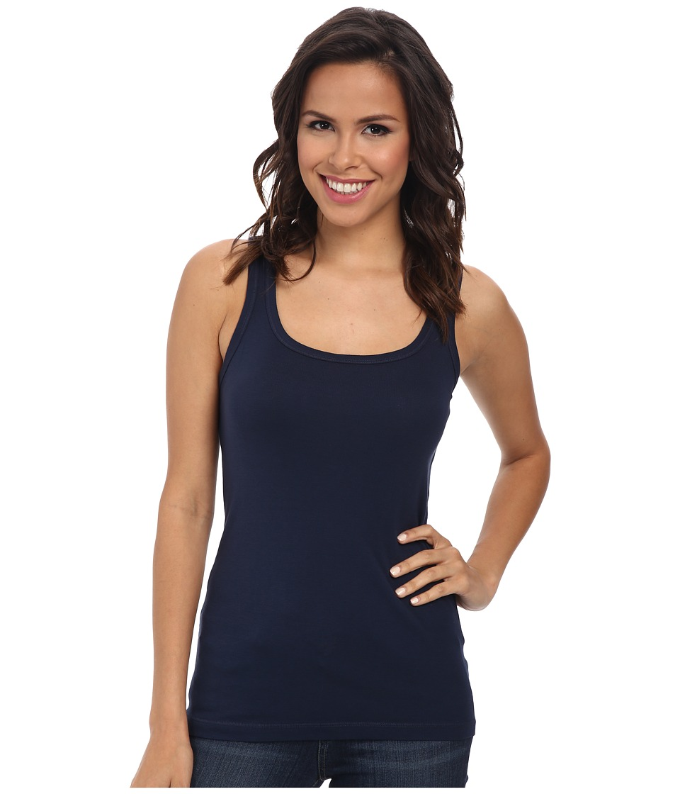 Splendid 1x1 Tank Top (Navy) Women