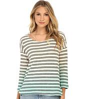 Splendid - Stripe Dip Dye Active Pullover