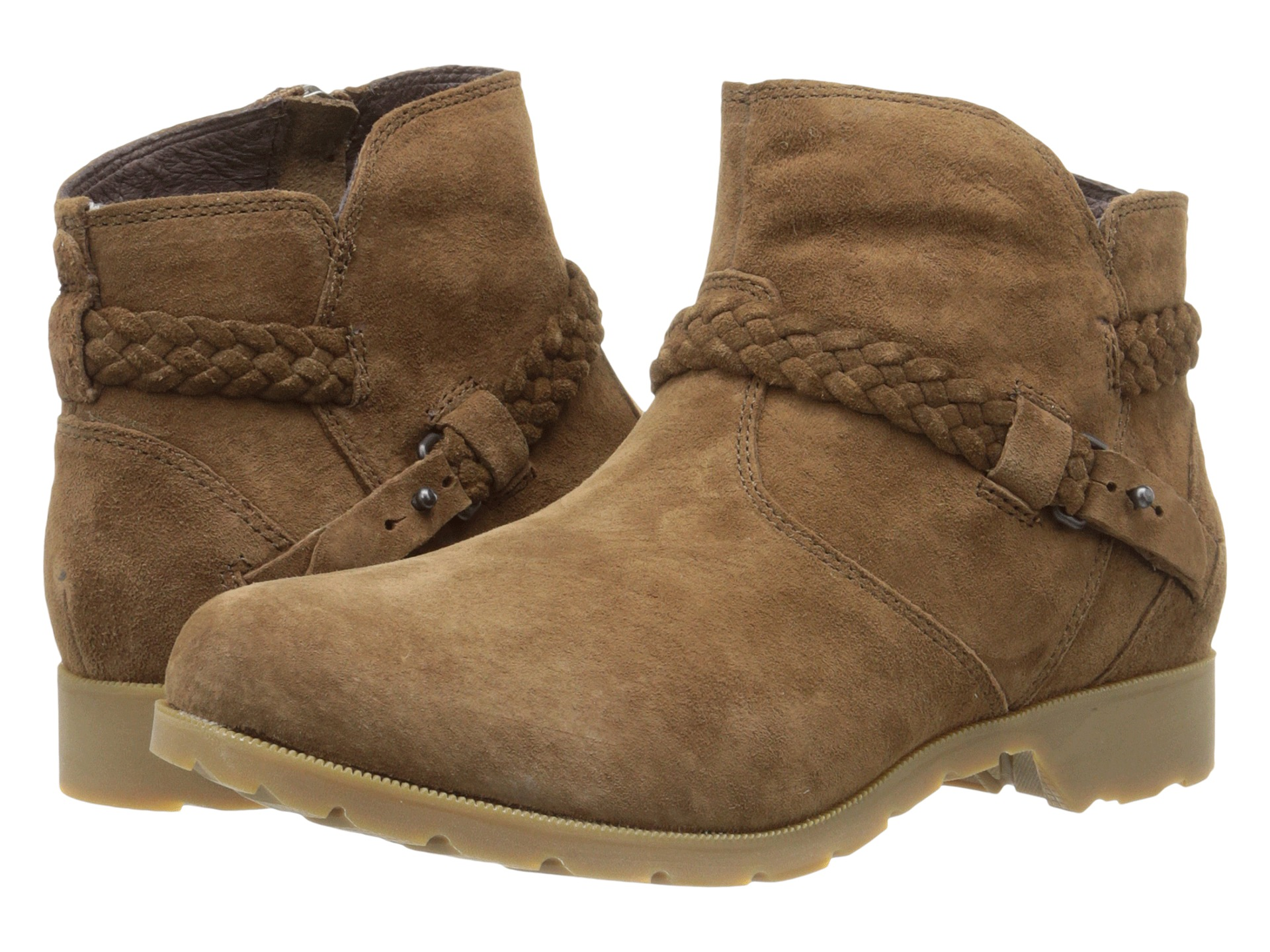 teva delavina ankle suede bison zappos free shipping