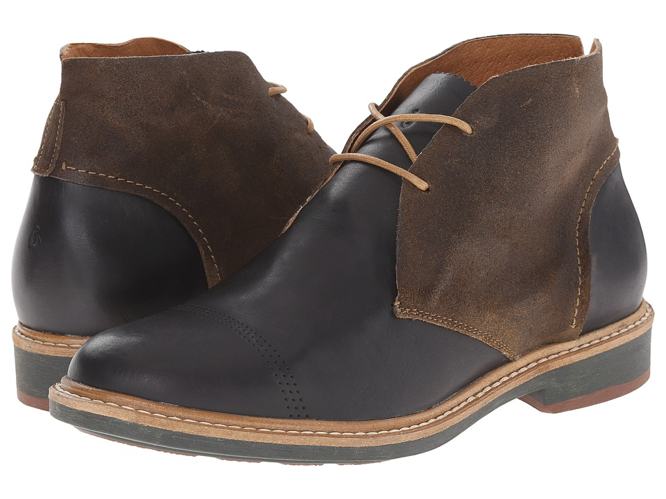 OluKai Pahoa (Black/Seal Brown) Men