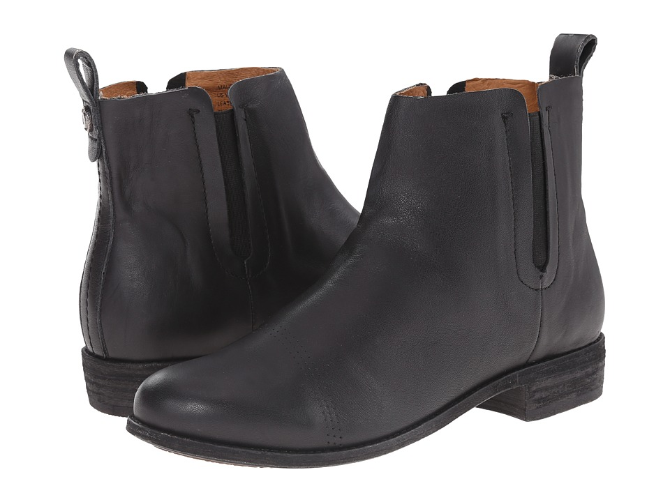OluKai Malie Black/Black Womens Pull on Boots