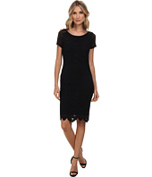 Velvet by Graham & Spencer - Zoya Short Sleeve Lace Dress