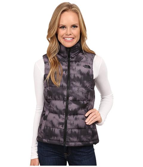 The North Face - Nuptse 2 Vest (TNF Black/Kokomo Green) Women's Vest