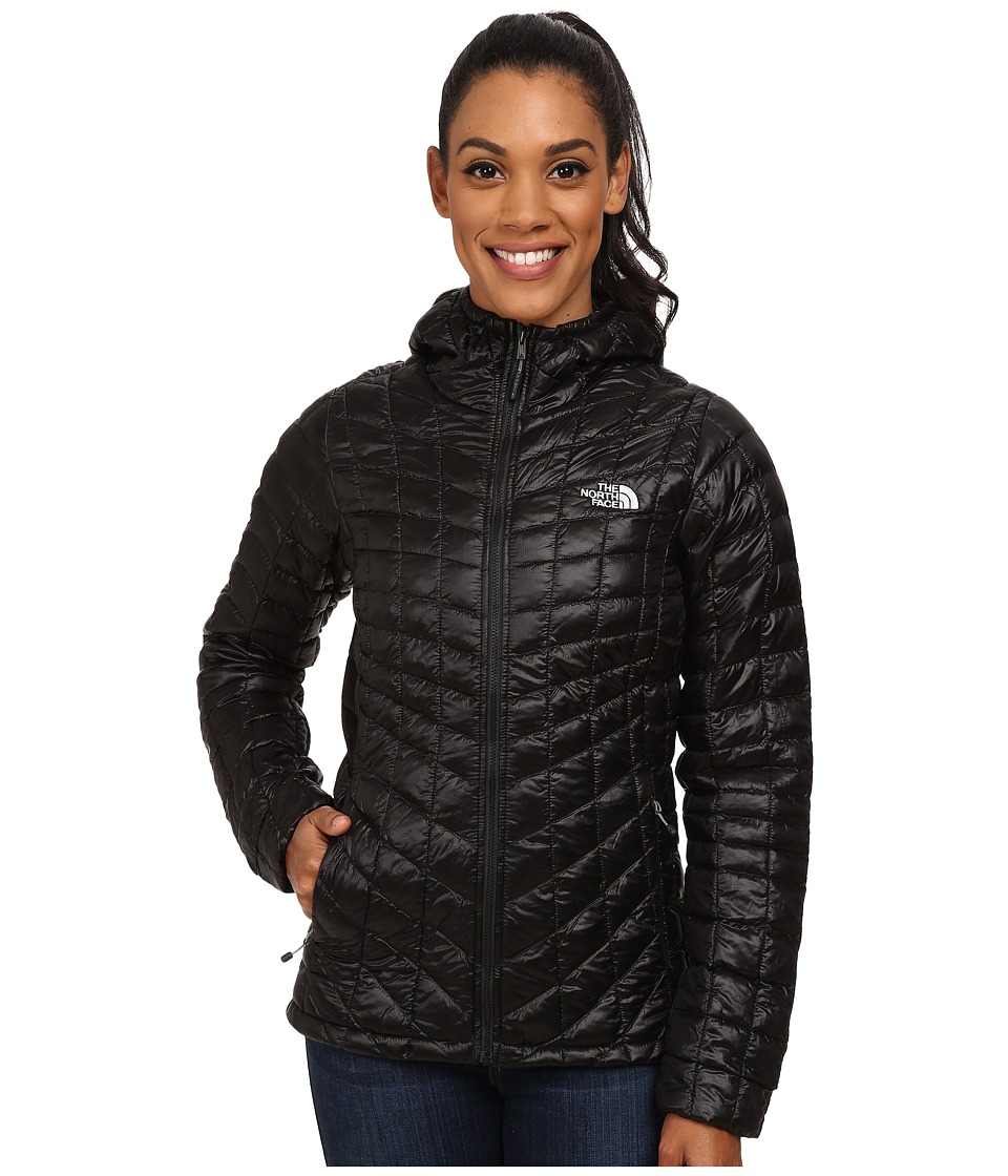 The North Face - ThermoBall Hoodie (TNF Black) Women