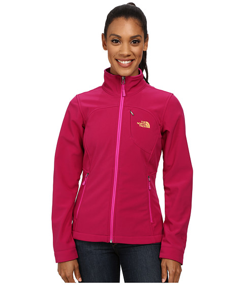 The North Face - Apex Bionic Jacket (TNF Black/Cerise Pink) - Apparel
