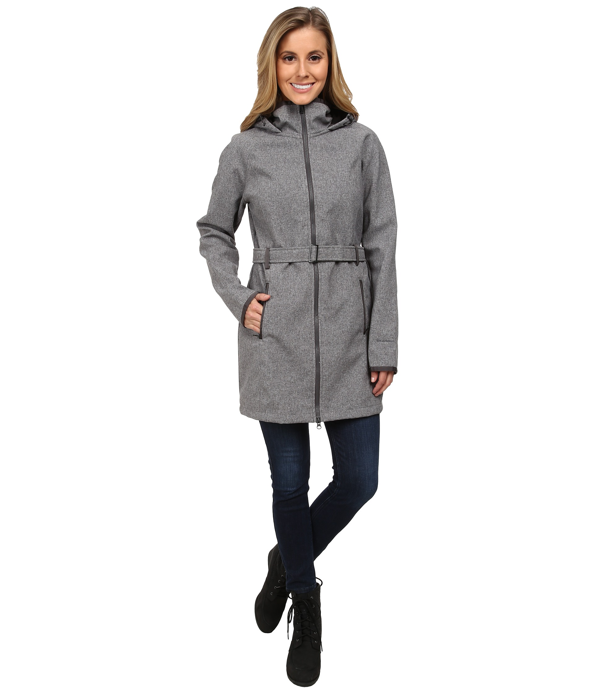 Coats & Outerwear, Gray, Women | Shipped Free at Zappos