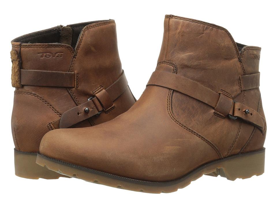 Teva Delavina Ankle (Bison) Women
