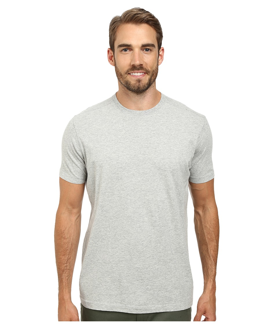 Agave Denim 100 Supima Cotton Agave Tee Heather Gray Mens T Shirt