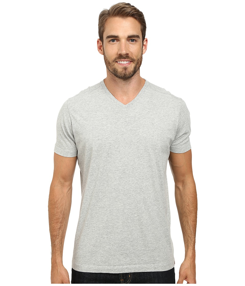 Agave Denim Agave Hi V Supima Tee Heather Gray Mens T Shirt