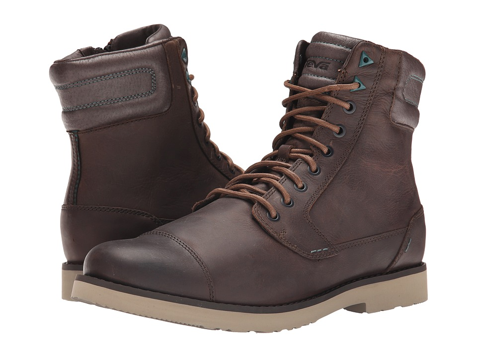 Teva Durban Tall Leather Brown Mens Shoes