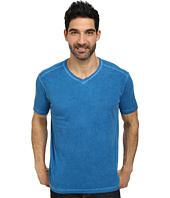Agave Denim - Les Cavaliers Short Sleeve V-Neck Antique