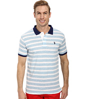 U.S. POLO ASSN. - Slim Fit Slub Polo