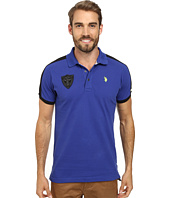 U.S. POLO ASSN. - Slim Fit Shoulder Stripe Polo